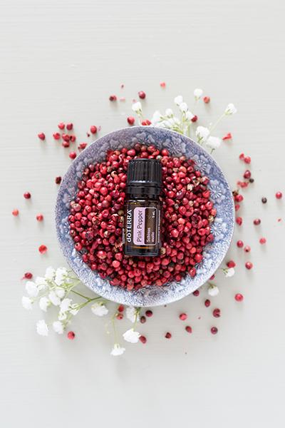 ulei esențial de piper roz doterra