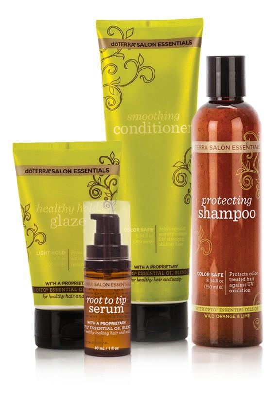 utilizările gamei de îngrijire a părului Salon Essentials